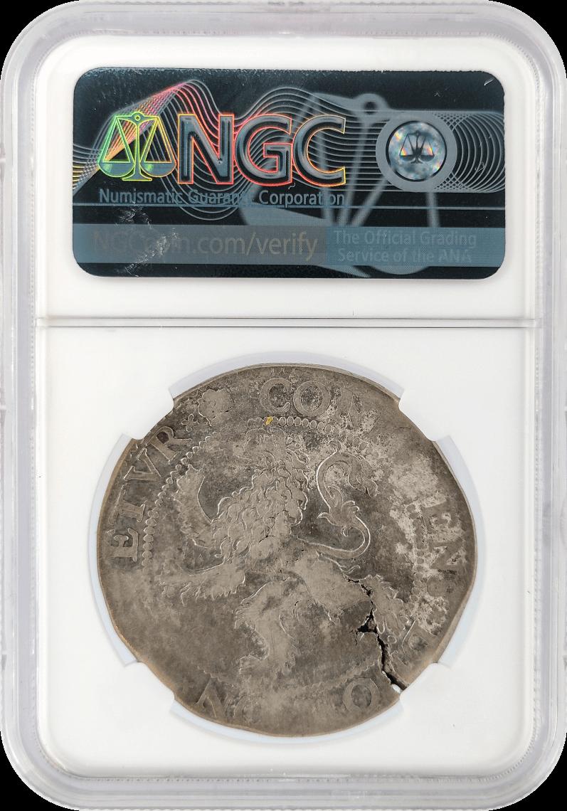 Netherlands 1LD Lion Dollar NGC VF 25