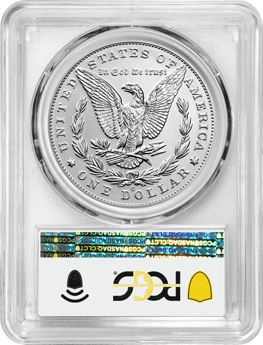 2021 Morgan and Peace Dollar 100th Anniversary 6 Coin Set PCGS MS70 Advanced Releases 100th Anniversary Label